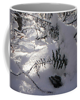 Icy Fern Coffee Mug
