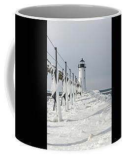 Icy Fringe On The Catwalk - Vertical Orientation Coffee Mug