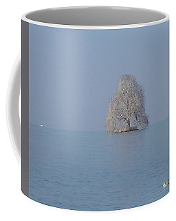 Coffee Mug featuring the photograph Icy Isolation by Christin Brodie