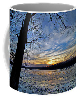 Coffee Mug featuring the photograph Icy River by Cricket Hackmann
