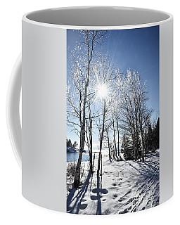 Icy Sunburst Coffee Mug