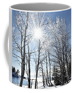 Icy Sunburst Coffee Mug