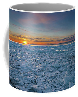 Icy Sunset Coffee Mug