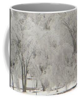 Icy Trees Coffee Mug