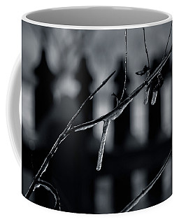Icy Twig Coffee Mug by Karen Slagle