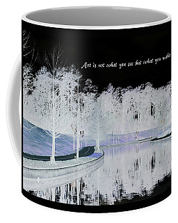 Icy Waterway Coffee Mug