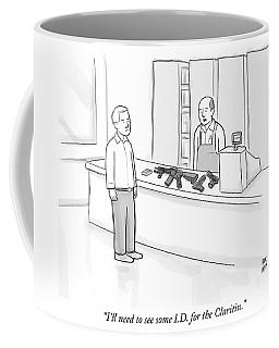 Id For The Claritin Coffee Mug
