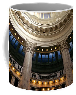 Coffee Mug featuring the photograph Idaho Capitol Half Dome by Patricia Strand