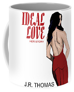 Coffee Mug featuring the digital art Ideal Love Book Cover by Jayvon Thomas