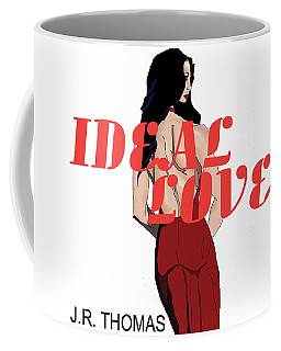 Coffee Mug featuring the digital art Ideal Love Cover by Jayvon Thomas