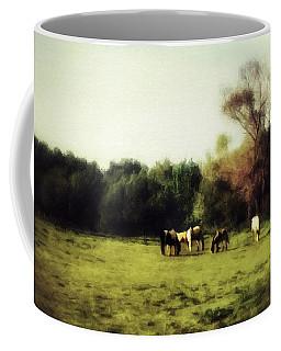 Idyllic Horse Scene Coffee Mug