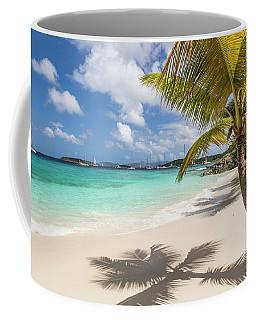 Coffee Mug featuring the photograph Idyllic Salomon Beach by Adam Romanowicz