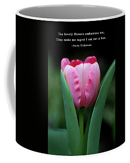 Coffee Mug featuring the photograph If I Were A Bee by Dale Kincaid