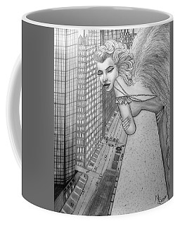 If Marilyn Were An Angel Coffee Mug by Absinthe Art By Michelle LeAnn Scott
