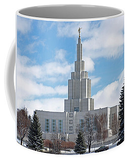 If Temple Against The Sky Coffee Mug