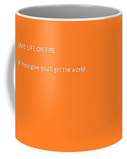 Coffee Mug featuring the photograph If You  by Aaron Martens