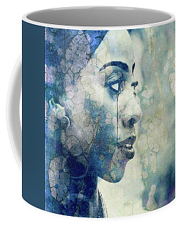 Coffee Mug featuring the digital art If You Leave Me Now  by Paul Lovering