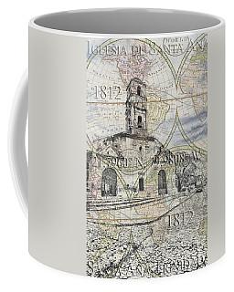Iglesia De Santa Ana Passport Coffee Mug