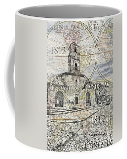 Iglesia De Santa Ana Passport Coffee Mug