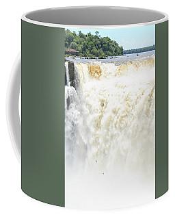 Coffee Mug featuring the photograph Iguazu Falls by Silvia Bruno