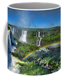Iguazu Panorama Coffee Mug by David Gleeson