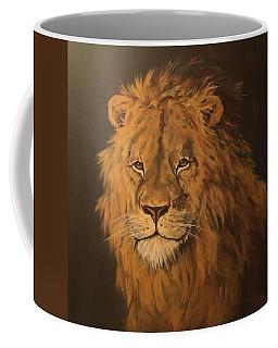Lion Coffee Mug by Jean Walker