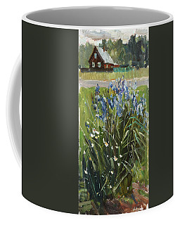 Irises Etude Coffee Mug
