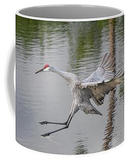 Ike The Crane's Grouchy Day Coffee Mug