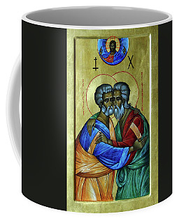 Coffee Mug featuring the photograph Ikon Sts. Peter And Andrew by John Schneider