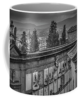 Coffee Mug featuring the photograph Il Cimitero E Il Duomo by Sonny Marcyan