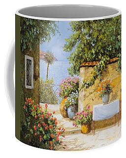 Il Muretto E Il Mare Coffee Mug