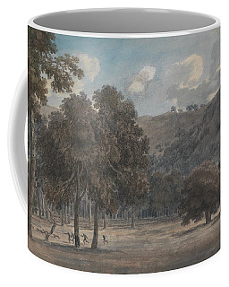 Il Parco Degli Astroni - The Wooded Crater Bottom With Hunt In Progress Coffee Mug
