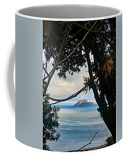 Coffee Mug featuring the photograph Ilheus Del Cabras, Terceira, Azores by Kelly Hazel