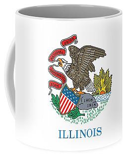 Illinois State Flag Coffee Mug