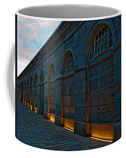 Illuminated Arches Coffee Mug by Helen Northcott