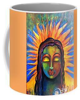 Illuminated By Her Own Radiant Self Coffee Mug by Prerna Poojara