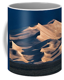 Illuminated Sand Dunes Coffee Mug
