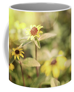 Illuminated Zinnia Coffee Mug