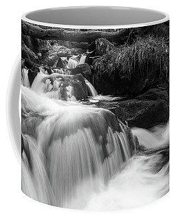 Coffee Mug featuring the photograph Ilse, Harz Monochrome  by Andreas Levi