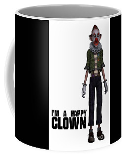 I'm A Happy Clown Coffee Mug