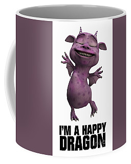I'm A Happy Dragon Coffee Mug