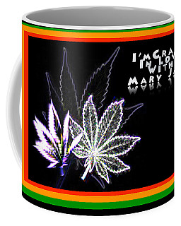 I'm Crazy In Love With Mary Jane Coffee Mug by Jacqueline Lloyd