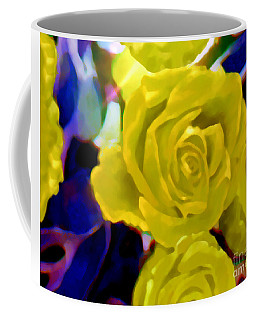 I'm Dreaming Of Soft Summer Roses  Coffee Mug by Kimberlee Baxter