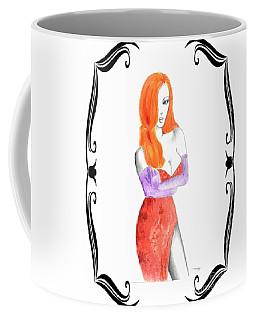 I'm Just Drawn That Way V.1 In Decorative Frame 2 Coffee Mug