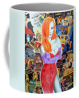 I'm Just Drawn That Way --v.2 -- Jessica Rabbit Portrait Coffee Mug