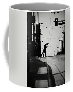 Coffee Mug featuring the photograph Im Leaving But Never  by Empty Wall