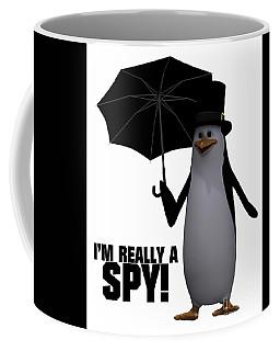 I'm Really A Spy Coffee Mug