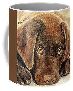 I'm Sorry - Chocolate Lab Puppy Coffee Mug