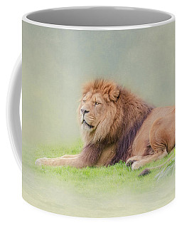 Coffee Mug featuring the photograph I'm The King by Roy McPeak