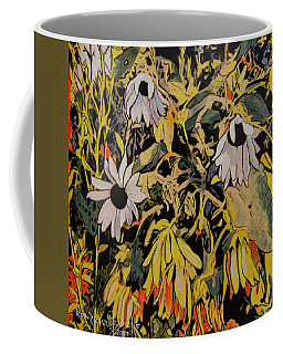 Coffee Mug featuring the painting Image From Ernie Lane by Ron Richard Baviello